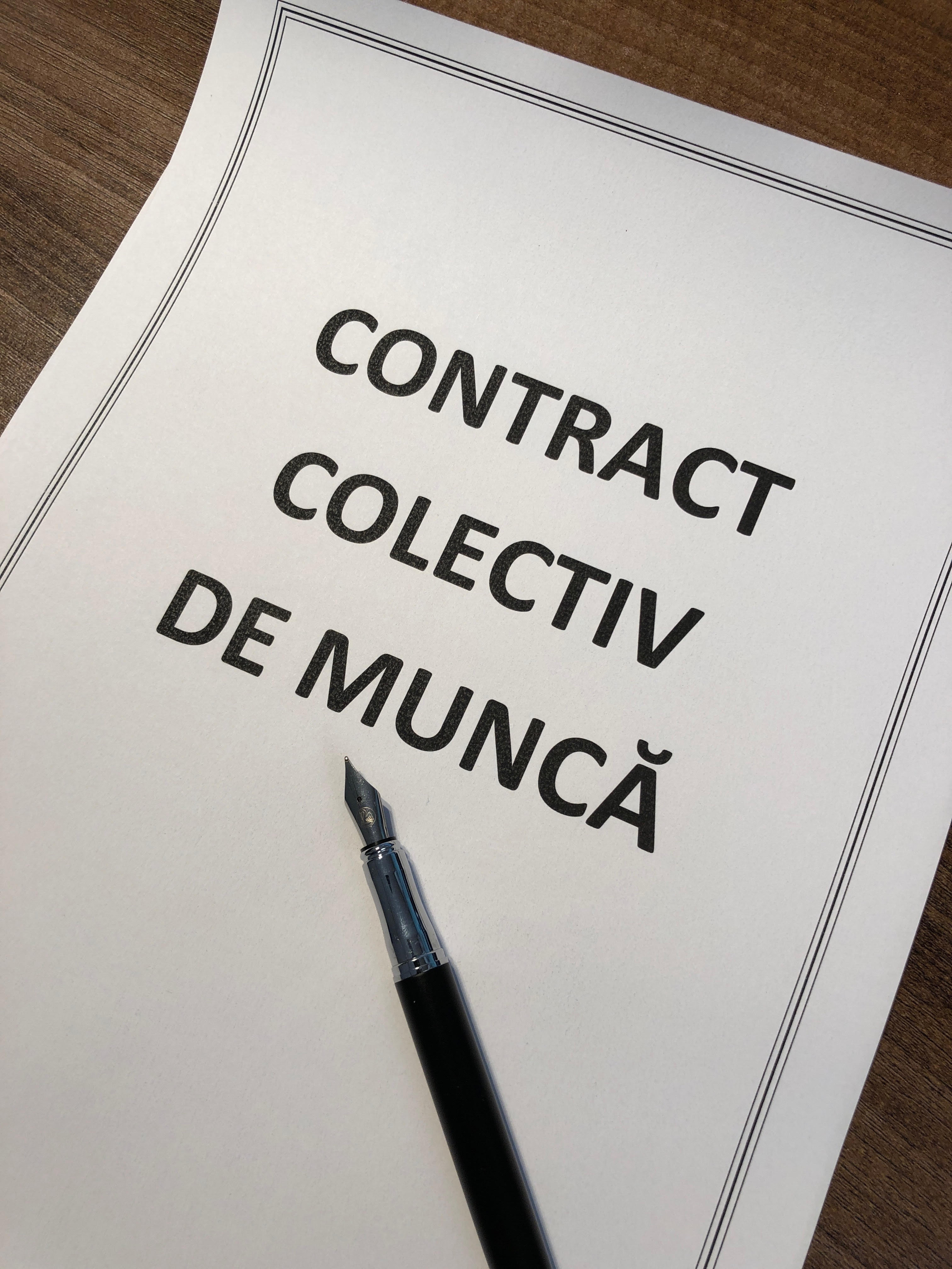 avocat dreptul muncii contract colectiv de munca CCM