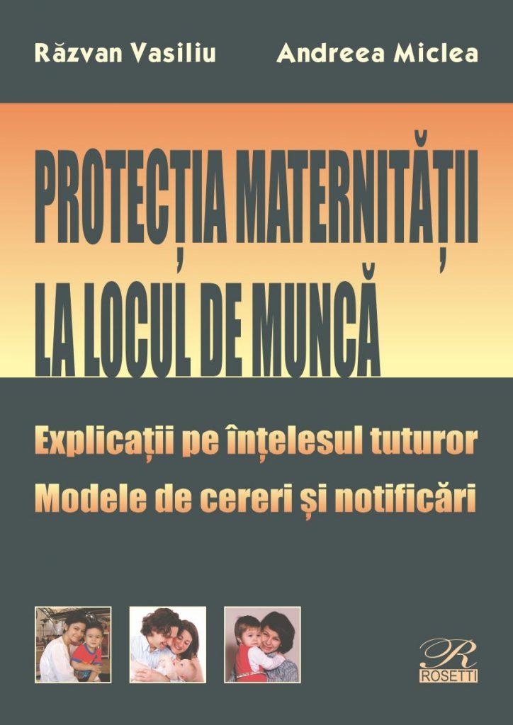 Protecția maternității la locul de muncă