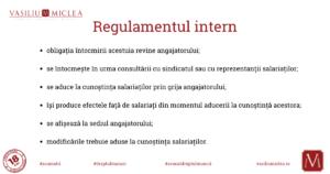 Regulamentul intern